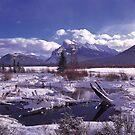 Vermillion Lake Freeze by Graeme Wallace