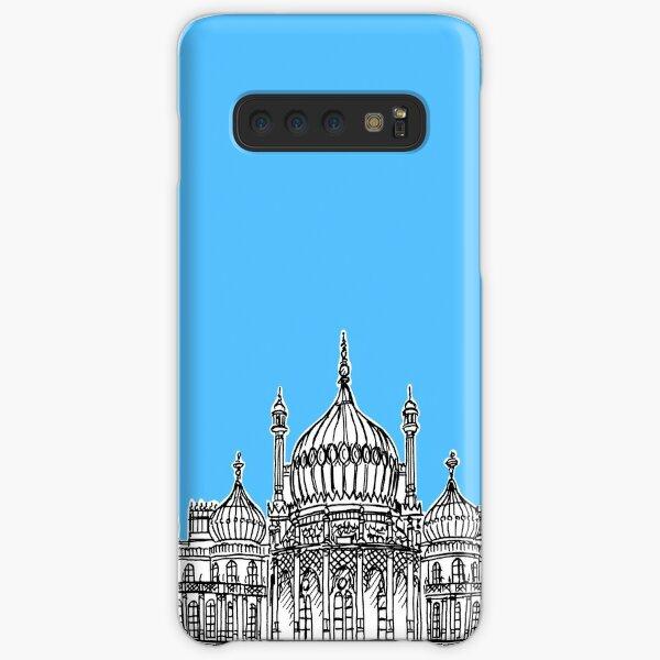 Brighton Royal Pavilion Facade Drawing ( Pale blue version ) Samsung Galaxy Snap Case