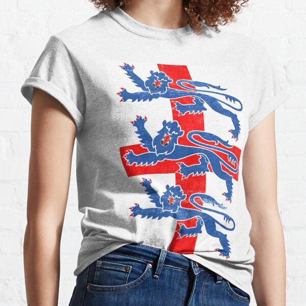 England flag three lions Classic T-Shirt
