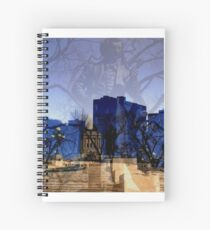 Mysterious!!! Spiral Notebook
