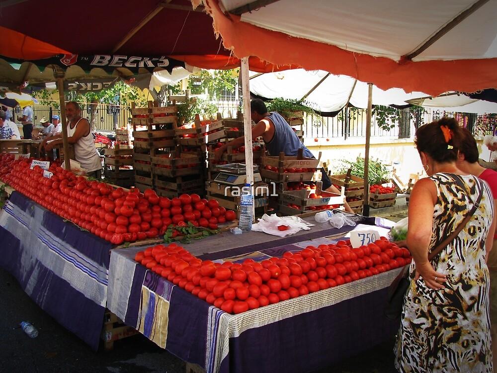 Bazaar in Şarköy,TURKEY by rasim1