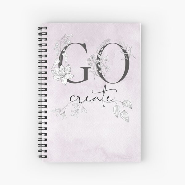 GO & create your thing! Spiral Notebook