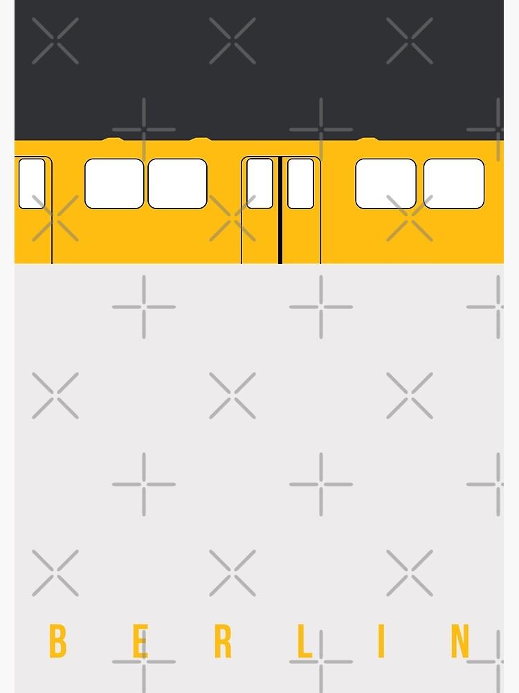 U-Bahn Berlin - Berlin Metro by knappidesign