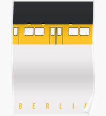 U-Bahn Berlin - Berlin Metro Poster