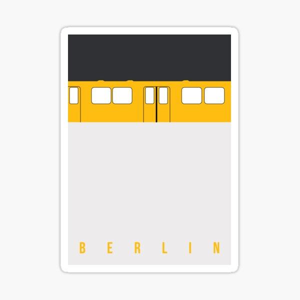 U-Bahn Berlin - Berlin Metro Sticker