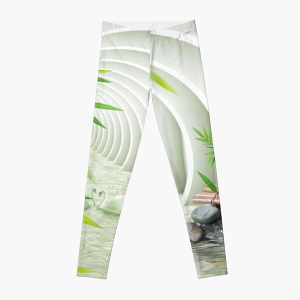 #Bamboo, #leaf, #nature, #summer, growth, tropical, water, relaxation, grass, wood Leggings