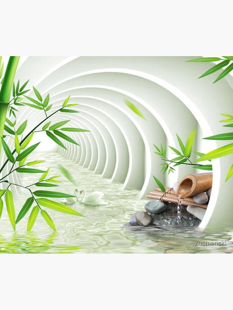#Bamboo, #leaf, #nature, #summer, growth, tropical, water, relaxation, grass, wood by znamenski