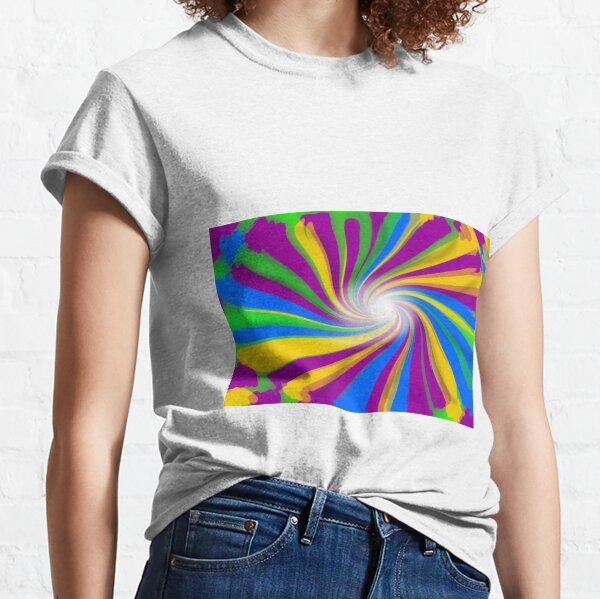 #Visual #arts, #Discipline, #design, abstract, creativity, pattern, rainbow, illustration, decoration Classic T-Shirt