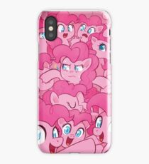 too many pinkie pies iPhone Case