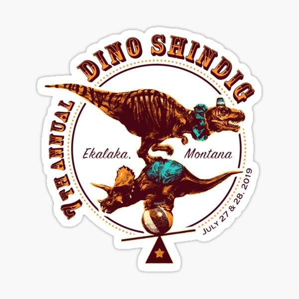 7th Annual Dino Shindig  Sticker