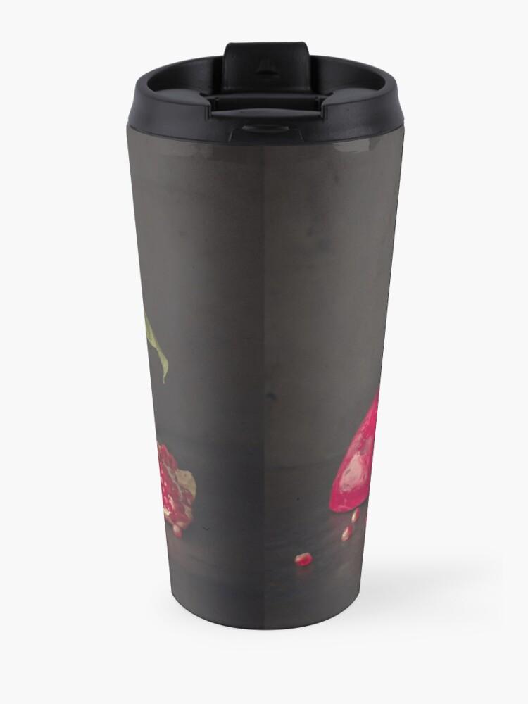 Alternate view of Pomegranate Travel Mug