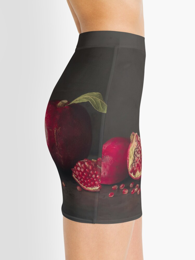 Alternate view of Pomegranate Mini Skirt