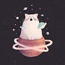 Yawning Space God Cat by Bumcchi