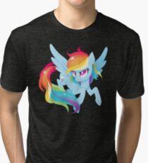 rainbow power Tri-blend T-Shirt