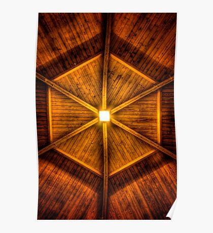 Rooftop Kaleidoscope Poster