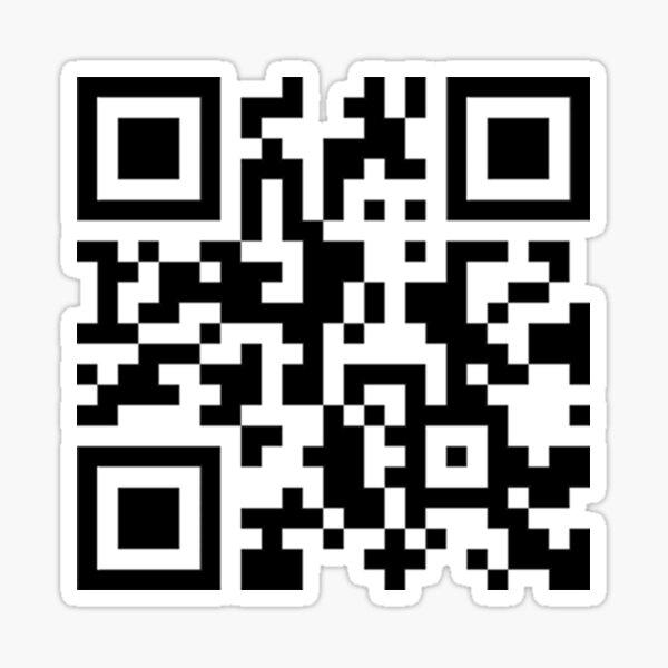 PornHub QR code Sticker