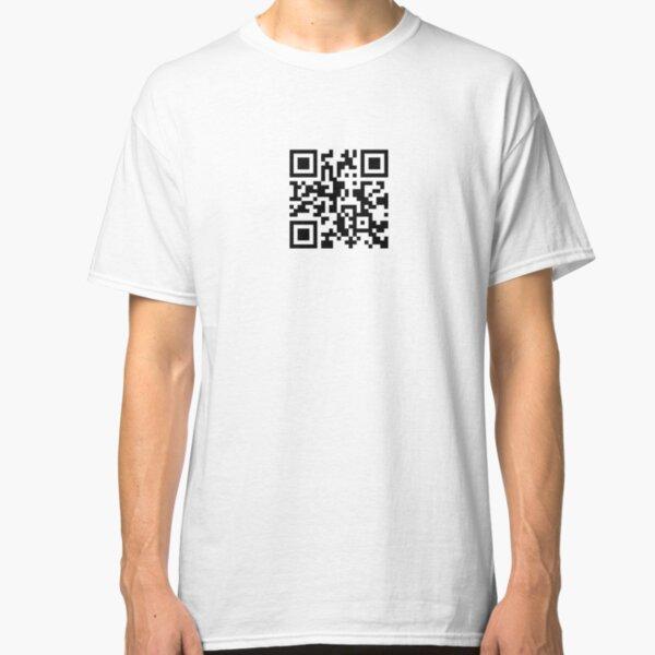 PornHub QR code Classic T-Shirt