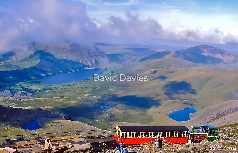 Snowdon Cog Railway by David Davies