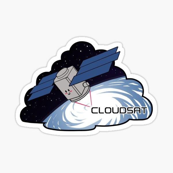 CloudSat Sticker