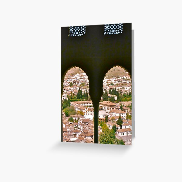 Granada from the Alhambra Greeting Card