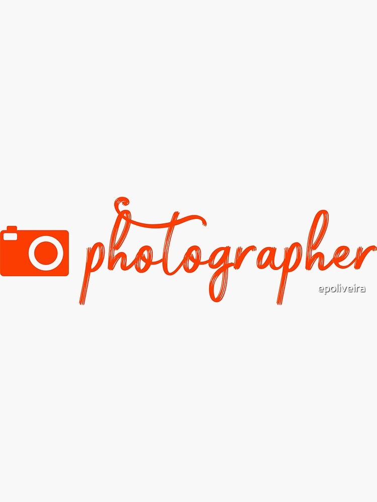 Photographer | Hobbies | Profession  | Orange  by epoliveira