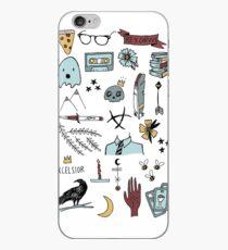 Vinilo o funda para iPhone garabatos de cuervo