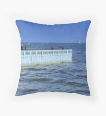 Elwood Jetty 2- Victoria - Australia Throw Pillow