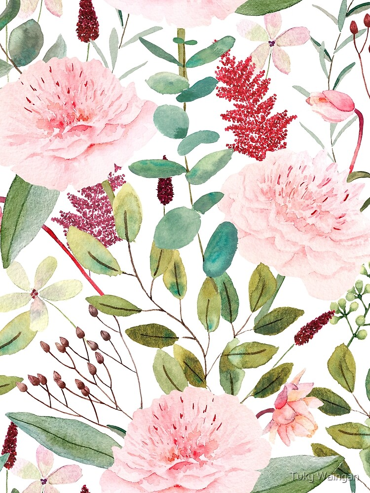 Roses watercolor  by tukywaingan