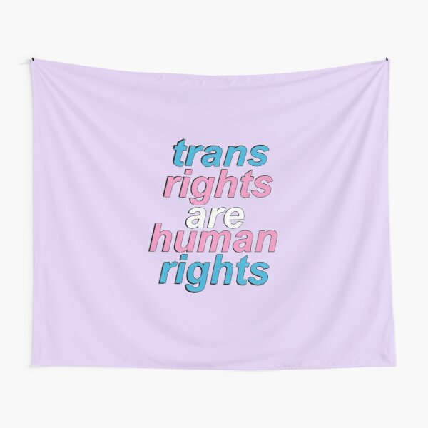 trans rights are human rights Tapestry
