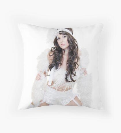 VintageSnowBunny©SHH Throw Pillow