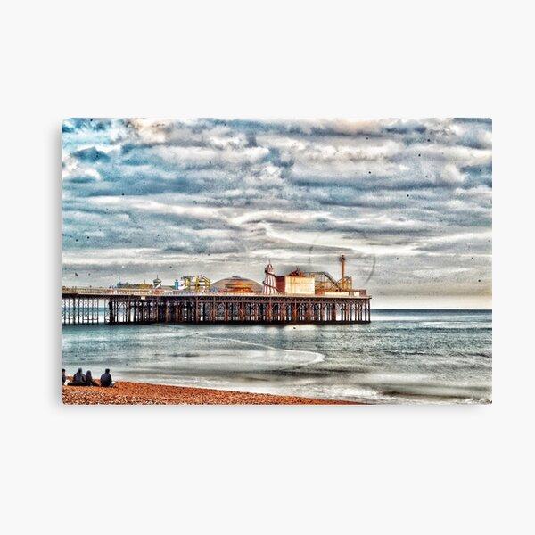Framed Canvas Art Print Brighton Pier Horse brighton city Sussex pier horse