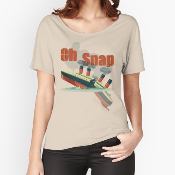 Oh Snap Relaxed Fit T-Shirt