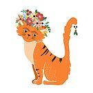 Mexikanische Katze von Elsbet
