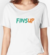 Fins Up! Women's Relaxed Fit T-Shirt