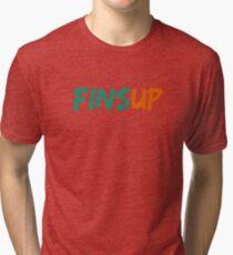 Fins Up! Tri-blend T-Shirt