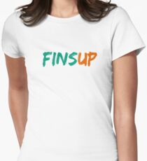 Fins Up! Women's Fitted T-Shirt