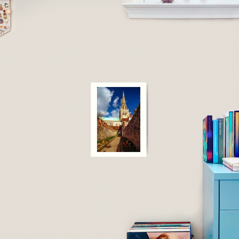Chichester Cathedral Art Print