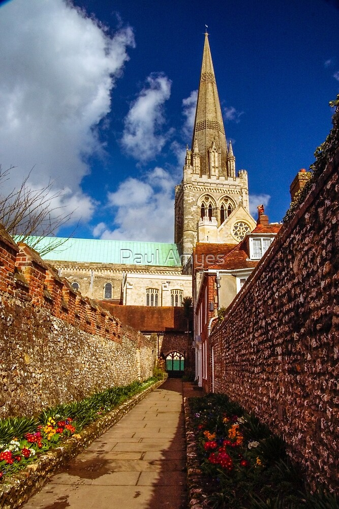 Chichester Cathedral by Paul Amyes