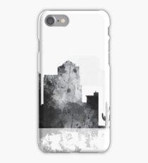 Tucson, Arizona Skyline -  B&W iPhone Case/Skin