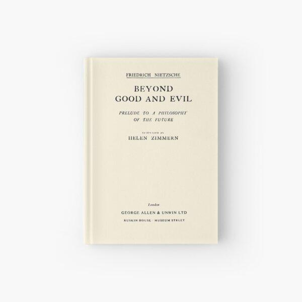 HIGH RESOLUTION Beyond Good and Evil Friedrich Nietzsche Title Page Hardcover Journal