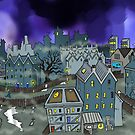Cityscape by bonafidethreadz