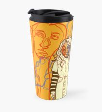 Continuous lines Travel Mug