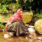 A beautiful Gypsy lady by Brian Bo Mei