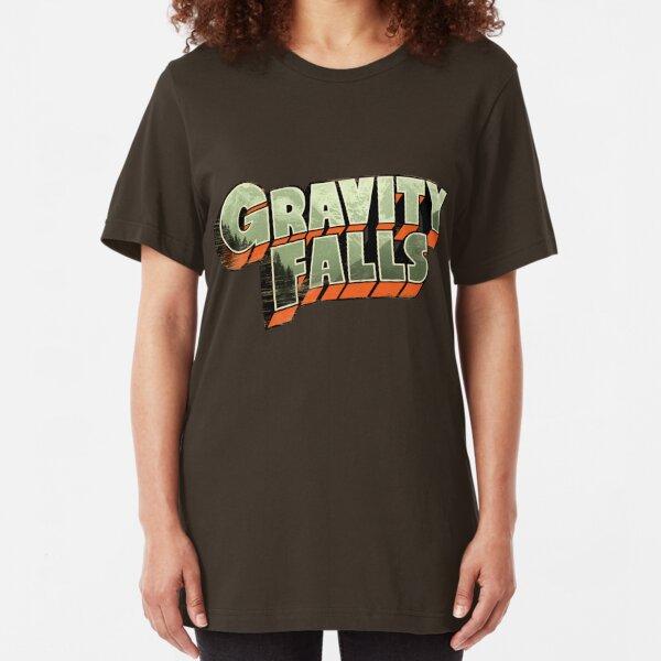 Gravity Falls Slim Fit T-Shirt