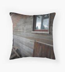 Vacant Oster House - nr Derwent Bridge, Tasmania Throw Pillow