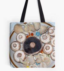 plate of Mushrooms Tote Bag