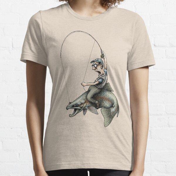 Flyfishing Rodeo Essential T-Shirt