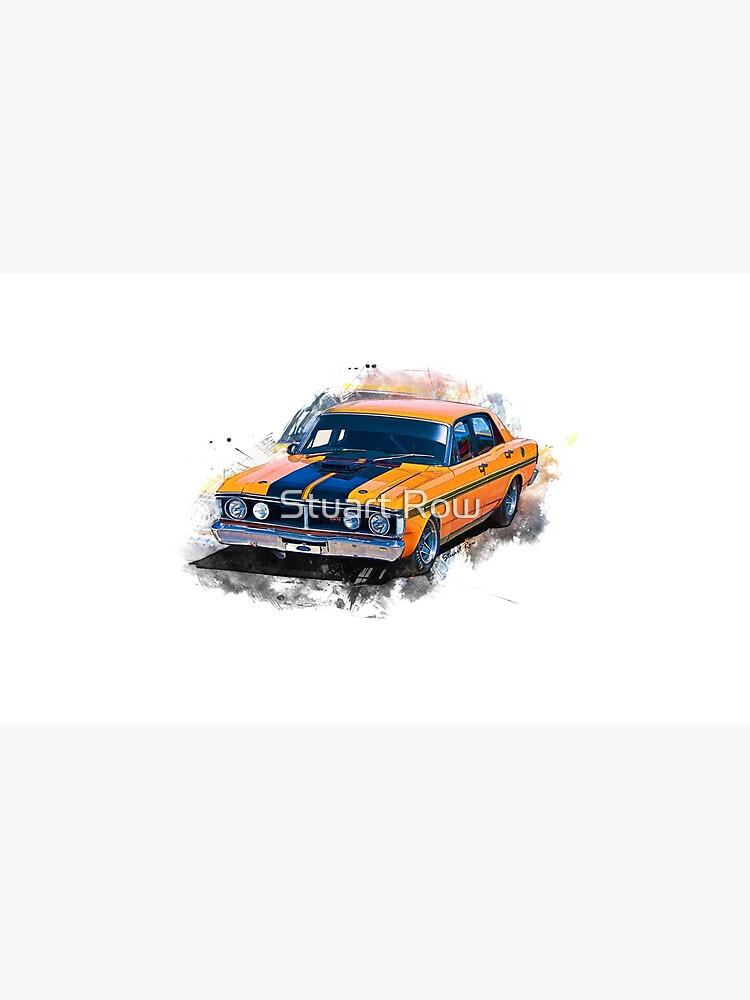 Orange 1971 Ford Falcon XY GT by StuartRow