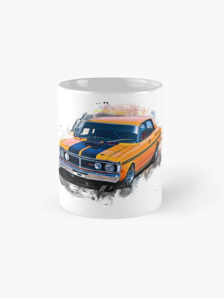 Alternate view of Orange 1971 Ford Falcon XY GT Mugs