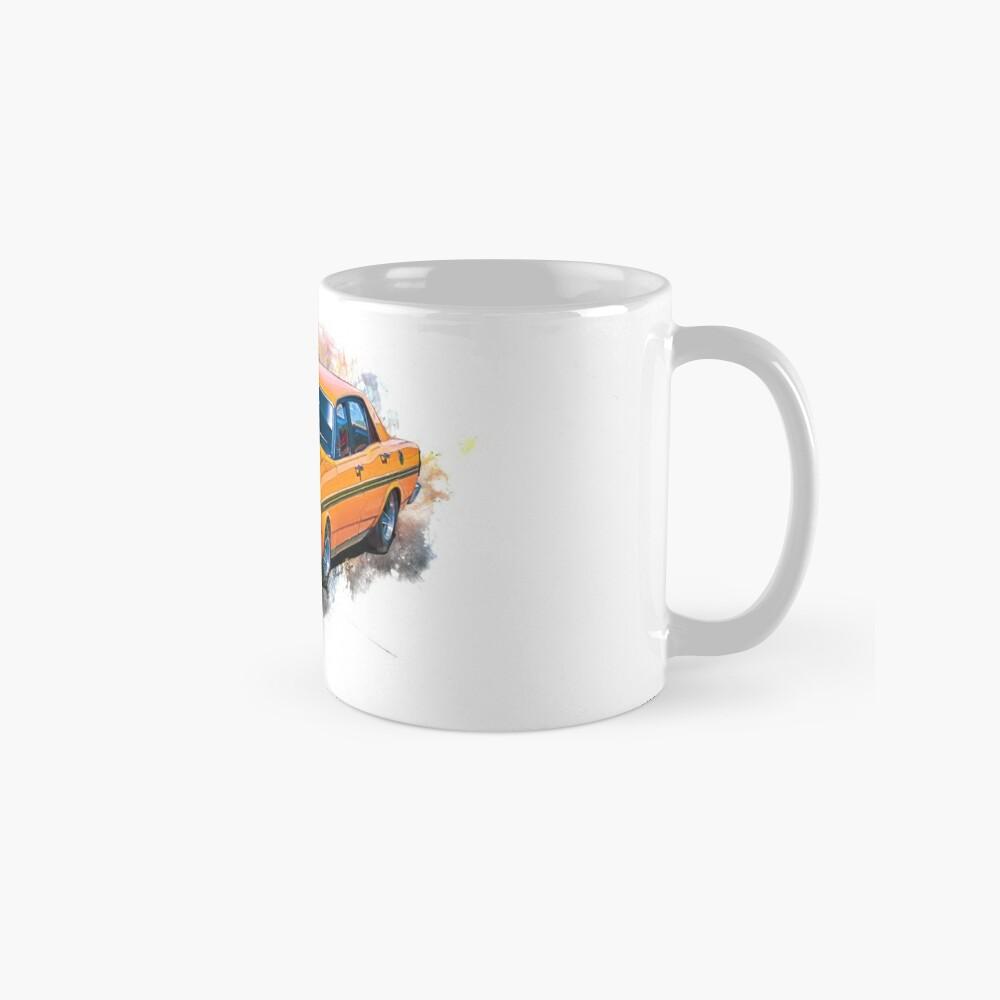 Orange 1971 Ford Falcon XY GT Mugs